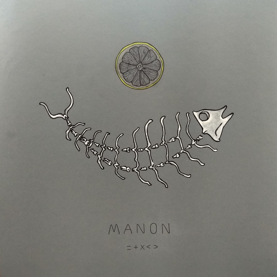 Manon, CODEX = + X < >, mista china, grafite, acrilici e pennini su cartoncino